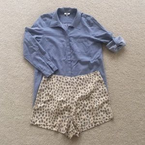 Joie size small top.  As seen on Gal Meets Glam.